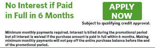 2601 - No Interest if Paid in Full in 6 Months