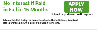 3158 - No Interest if Paid in Full in 15 Months